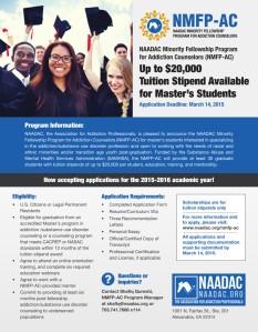 NAADAC Minority Fellowship Program