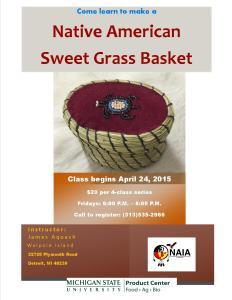 sweet grass basket class