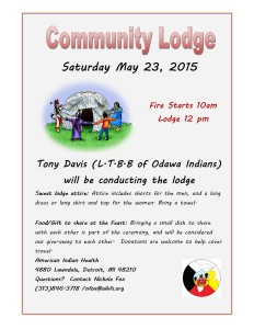 Community Lodge 5-23-15