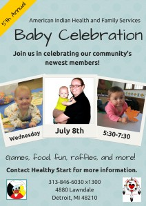 Baby Celebration 2015 Flyer