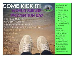 9-10-15 aihfs world suicide prevention day