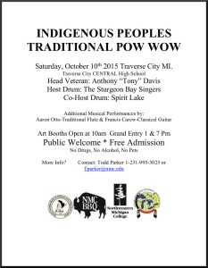 Oct 10 Indigenous Peoples Trad Powwow