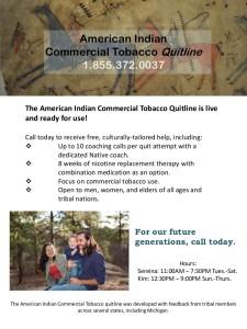 A I Tobacco Quitline
