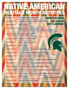 Lansing Native Heritage Month