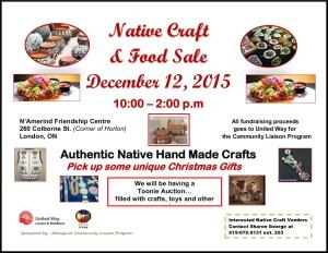 Native Craft n Food Sale