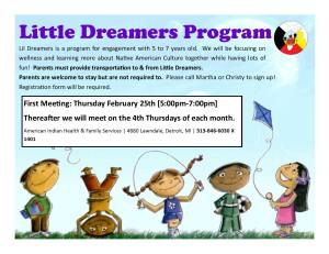 Little Dreamers Program