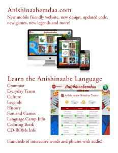 Anishinaabemowin language
