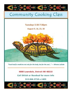 Community Cooking Class 2016