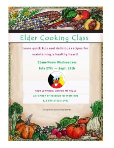 Elders Cooking class 2016
