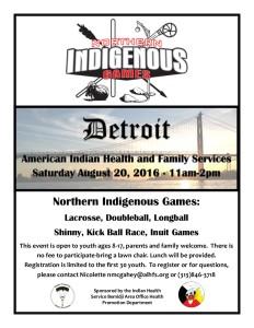 Indigenous Games Flyer 8-20-16