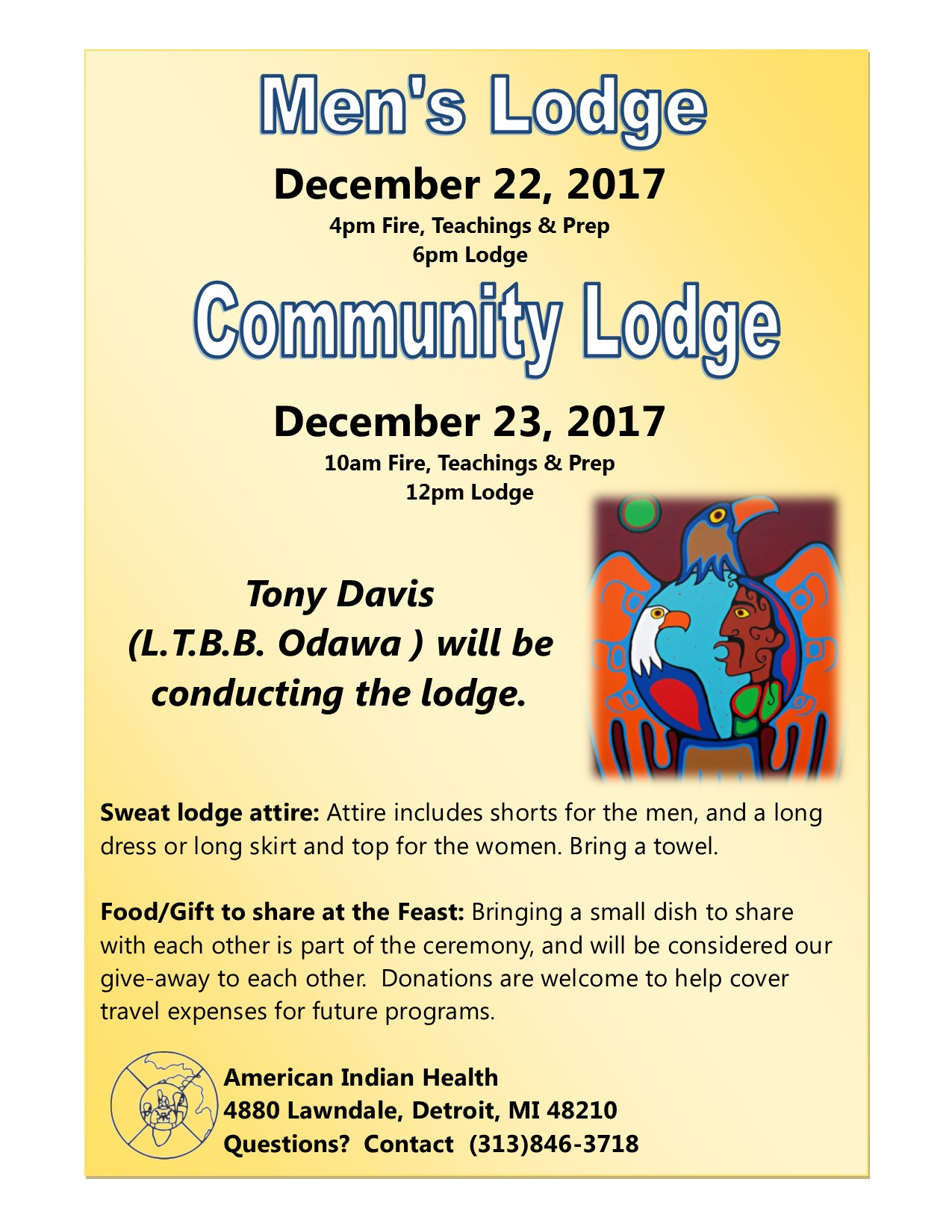 Aihfs community announcements see the flier below community sweat lodge december 23rd we will have a community sweat lodge here at aihfs conducted by tony davis of the little aiddatafo Image collections
