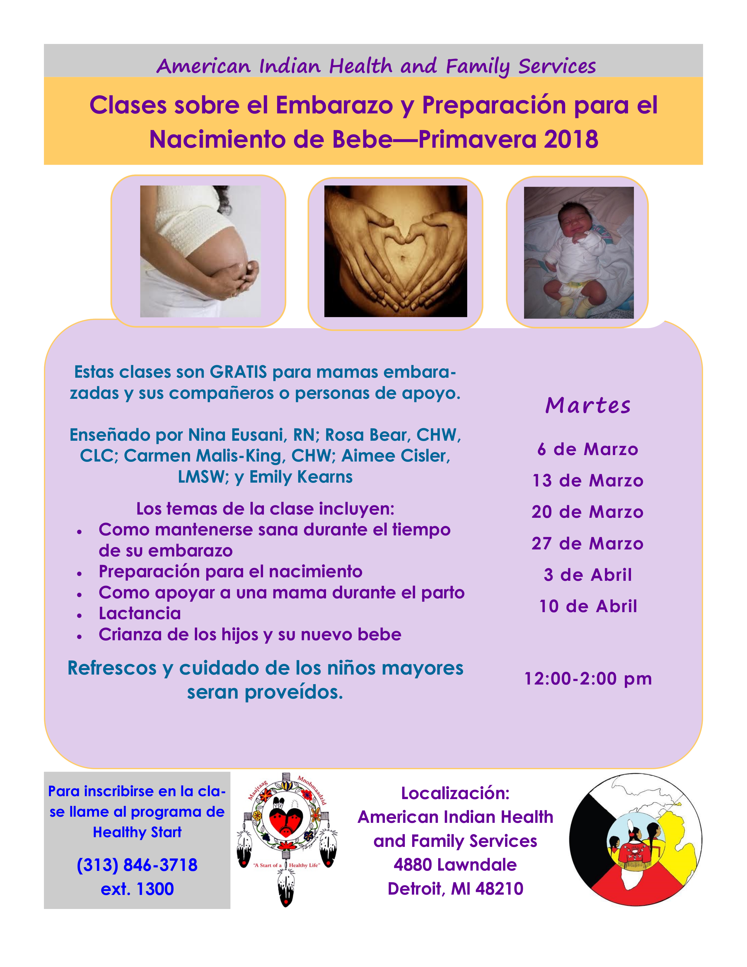 Aihfs community announcements preparing for birth infant feeding and parenting new babies light refreshments and childcare are provided each week please call the healthy start aiddatafo Image collections